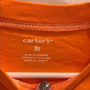 Carter's Shirts & Tops - Toddler boy Halloween shirt. Carters 3T